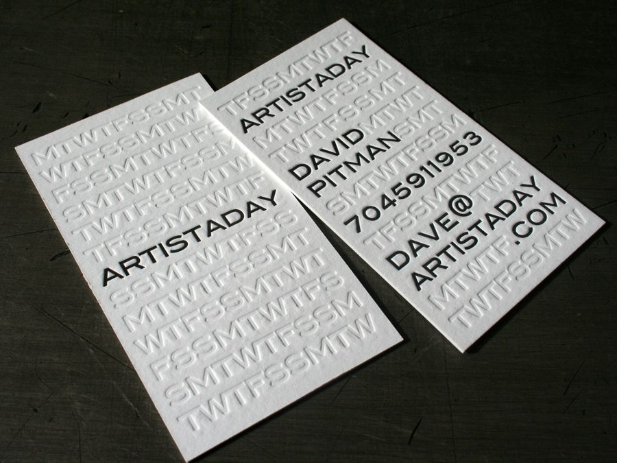 Possibly the best business cards ever made | Great Design Collection ...