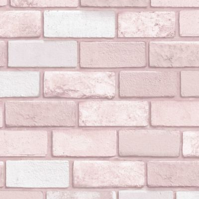 Arthouse Diamond Pink Brick Wallpaper Bed Bath Beyond Brick Wallpaper Pink Brick Wallpaper Glitter Wallpaper