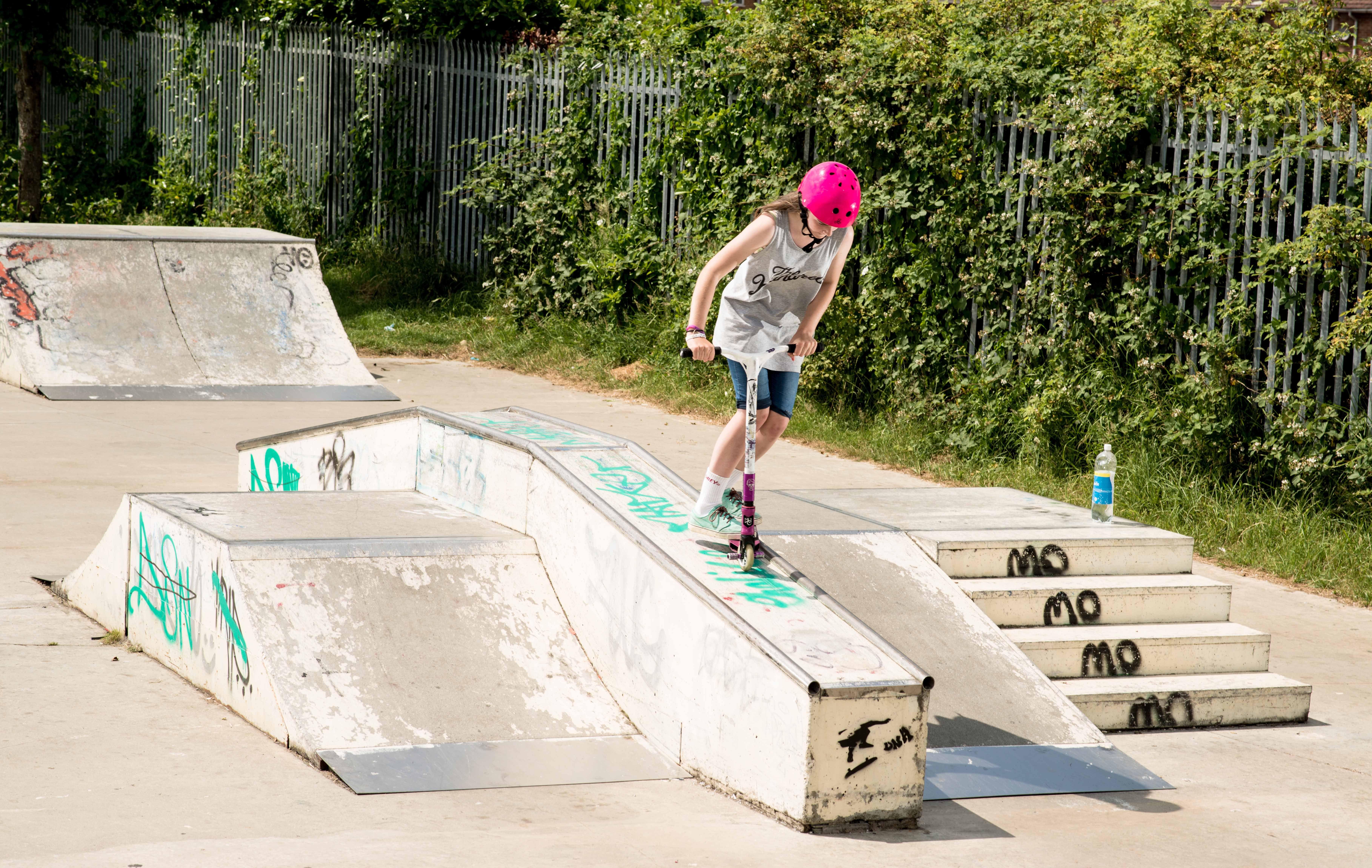 Grit girl rider Maddie Swain
