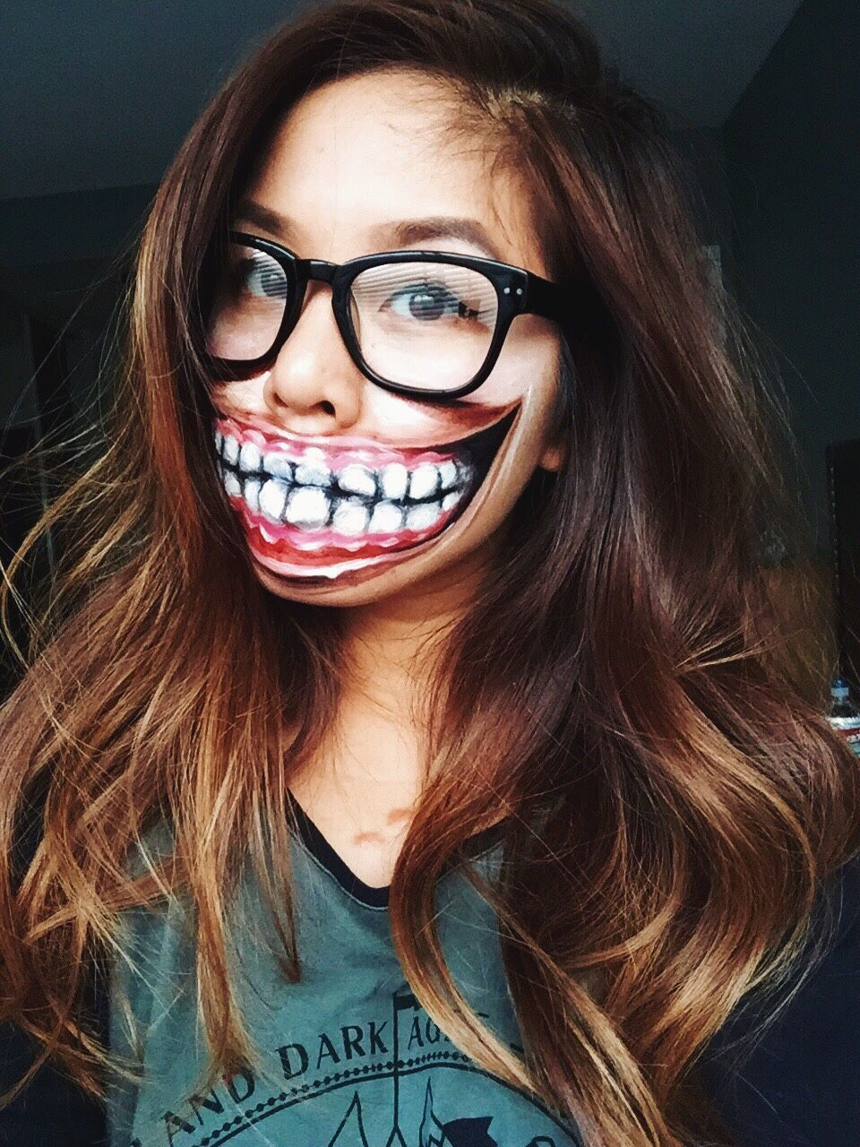 25 Totally Creepy Makeup Looks To Try This Halloween | Creepy ...