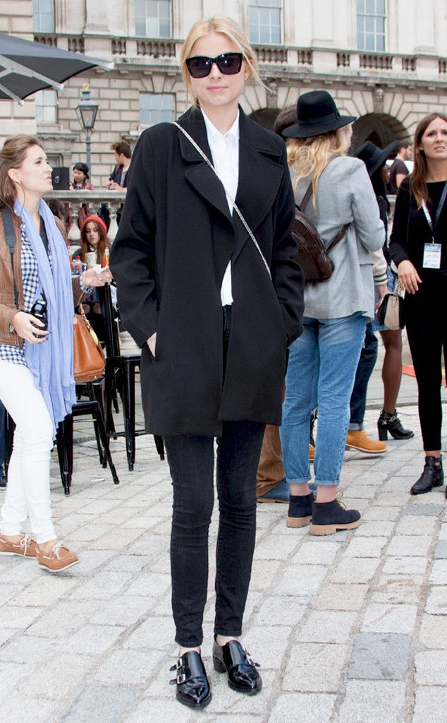 Adriana Wodzinska from Street Style: London Fashion Week Spring 2015