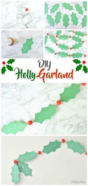 Vikalpah: DIY Holly Garland