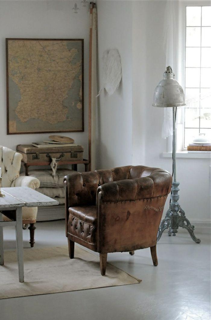 le canap club quel type de canap choisir pour le salon salon pinterest cuir marron. Black Bedroom Furniture Sets. Home Design Ideas