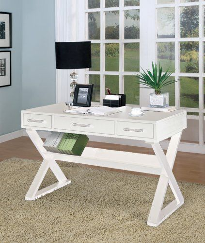 Inland Empire Furniture Hymen White Solid Wood Desk By Inland Empire  Furniture. $658.80. Brand