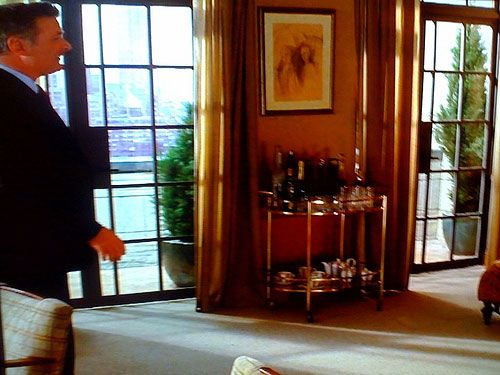 Perfect This Bar Cart Is In Jack Donaghyu0027s Office On The Set Of The Popular  Television Show