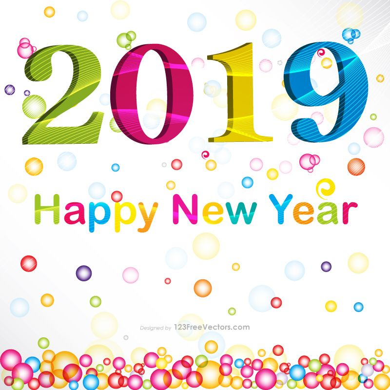 New Year Card Design 2019 New Year 2019 Images New year card