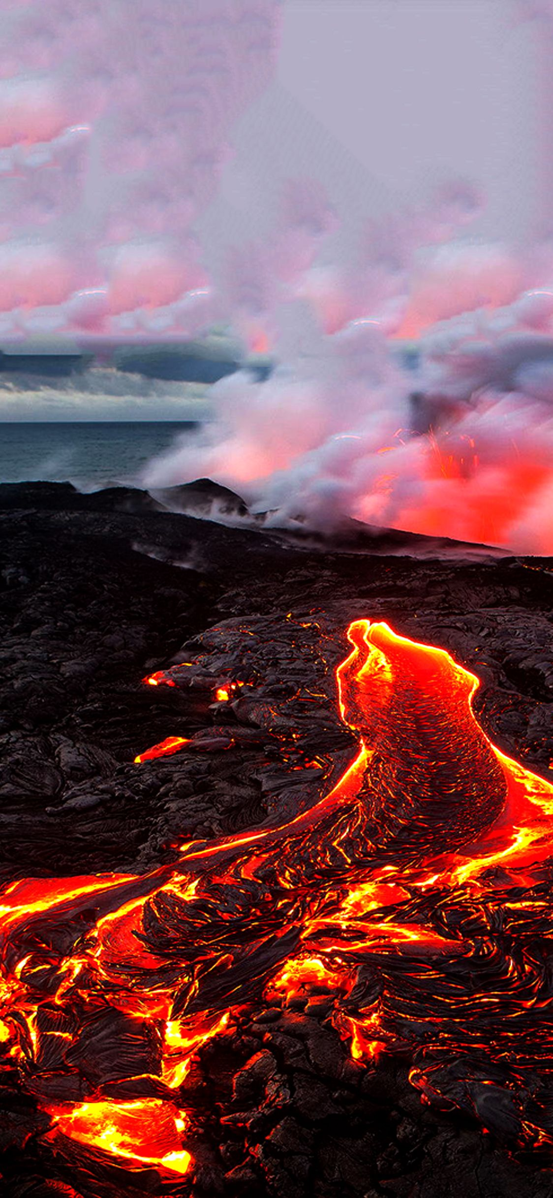 Best Volcano Wallpaper For Iphone X Ioswall Volcano Wallpaper Hipster Phone Wallpaper Iphone Wallpaper Hipster