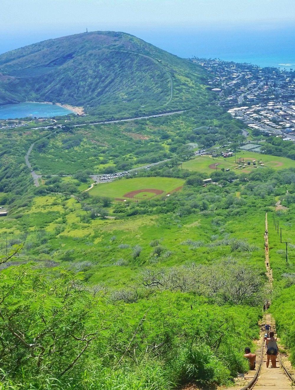 Oahu Hikes: map + list :: Best hiking trails on Oahu :: oahu hawaii on mount thielsen trail map, koko crater trail map, kaena point trail map, hanalei trail map, hanauma bay trail map, waimea trail map, kihei trail map, hawaii map, tantalus trail map,