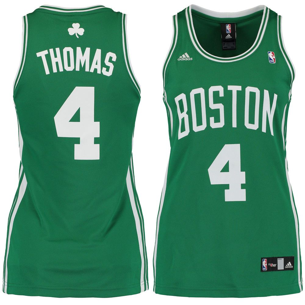 cheap for discount 711d7 84c7b Isaiah Thomas Boston Celtics adidas Women's Road Replica ...