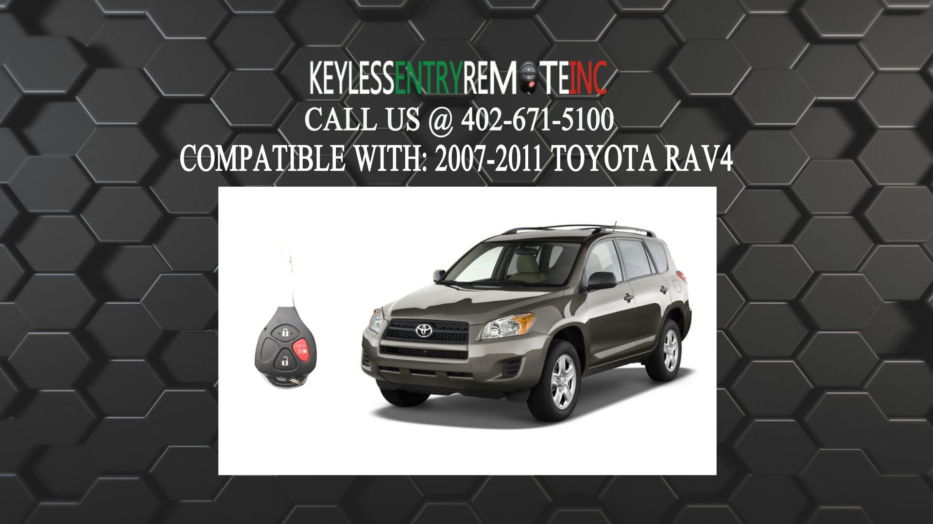 How To Replace Toyota Rav4 Key Fob Battery 2007 2008 2009 2010 2011 Toyota Rav4 Volkswagen Car Battery Hacks