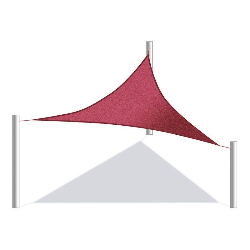 Aleko Triangular 10 X 10 X 10 Feet Waterproof Sun Shade Sail Canopy Tent Replacement  sc 1 st  Pinterest & Aleko Triangular 10 X 10 X 10 Feet Waterproof Sun Shade Sail ...