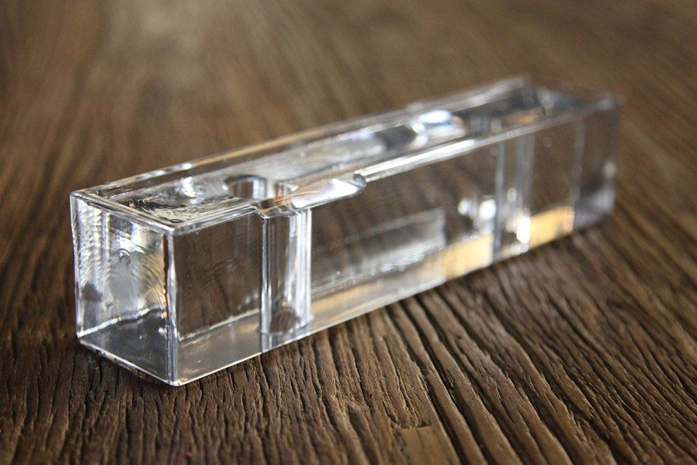 Cast glass block used on the optical glass house by hiroshi nakamura nap