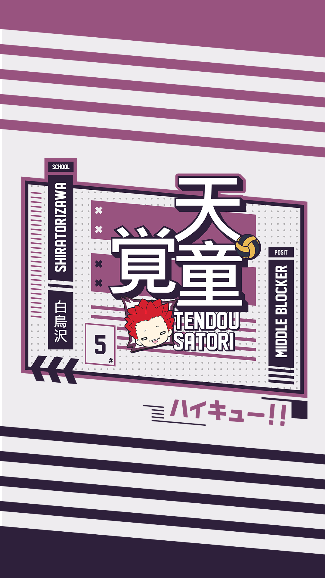 Tendou Satori Wallpaper Shiratorizawa Haikyuu In 2020 Haikyuu Wallpaper Anime Wallpaper Iphone Shiratorizawa