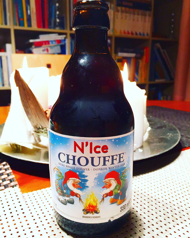N'Ice CHOUFFE Xmas Beer - Some more Belgian Beer - My personal Beer Porn. Juergen Schreiter Visionary http://www.JuergenSchreiter.com #Beer #Bier #Cerveza #Øl #Beerporn #BeerSommelier #Craftbeer #Brewery #Bauerei #Beertasting #Bierprobe #Schreiter #NIce #Chouffe #ChouffeBeer #XmasBeer
