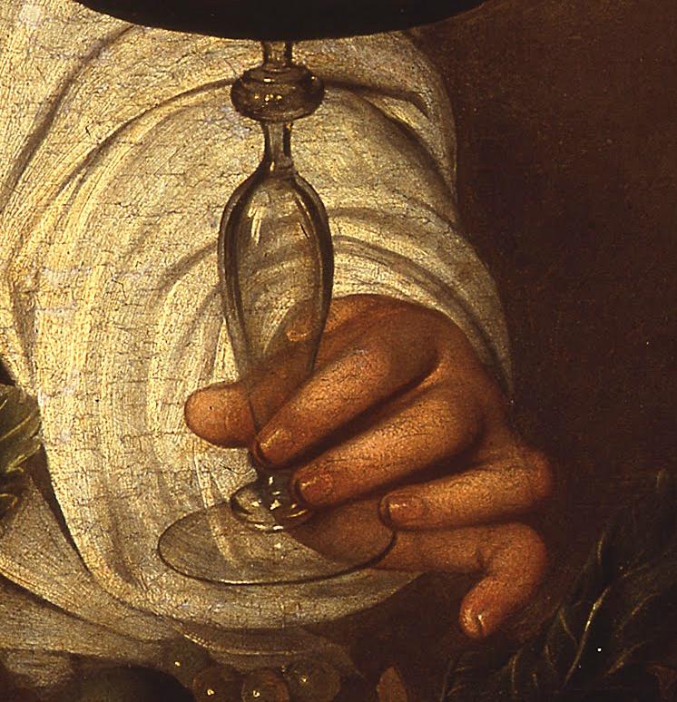 Caravaggio, The Adolescent Bacchus, 1595-97.