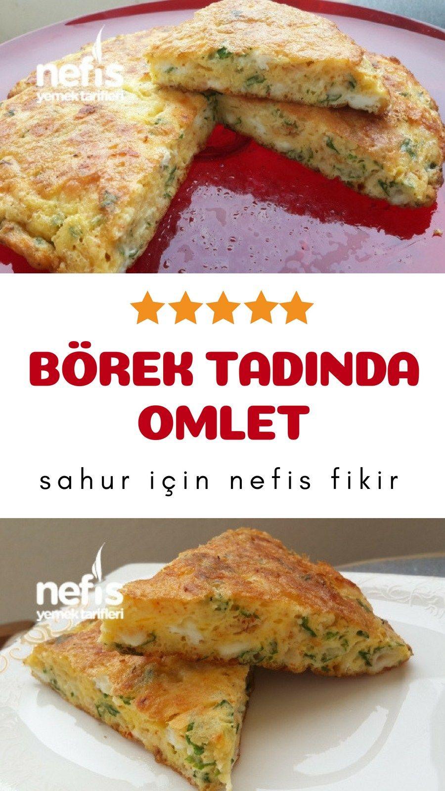 Yumuşacık pofuduk omlet tarifi