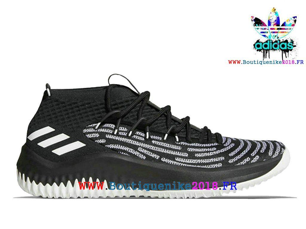 buy popular daa05 c0bf4 Nouveau Adidas Dame 4 Basketball Chaussures Damian Lillard Homme Blanc  Black AQ0380-Adidas Originals (