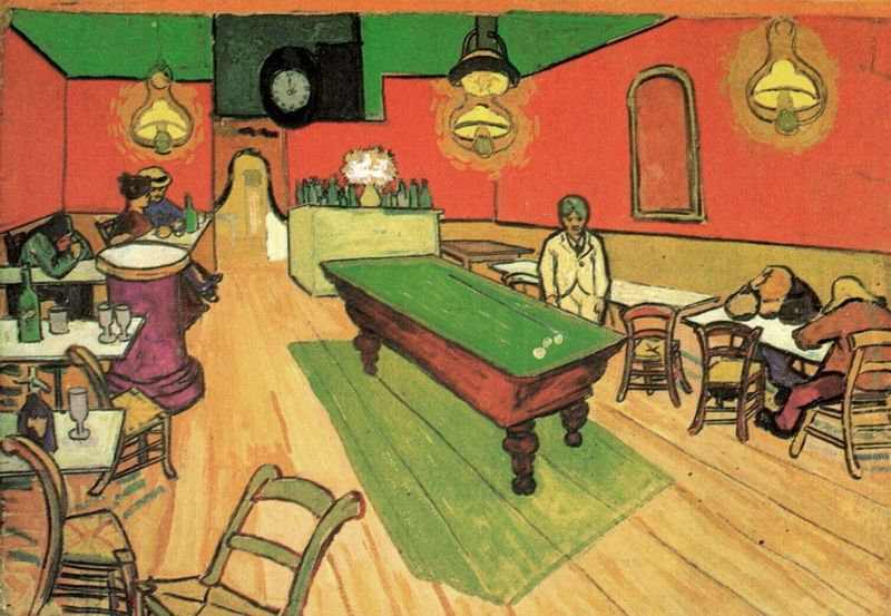 The Night Cafe in the Place Lamartine in Arles Vincent van Gogh