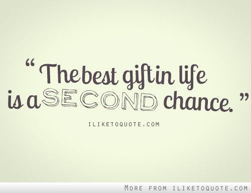 A Second Chance - The Culture Mom