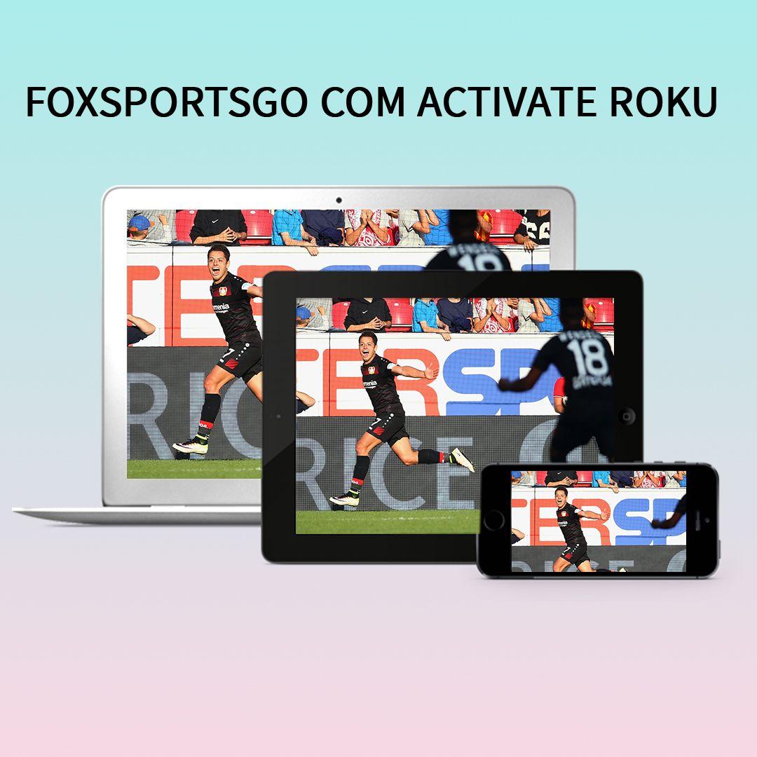 Watch FOX Sports GO on Roku Fox sports, Watch fox, Roku