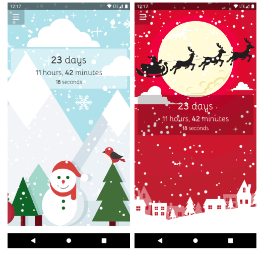 Best Christmas Countdown Apps 2019 Christmas Countdown Christmas Countdown Wallpaper Christmas Fun