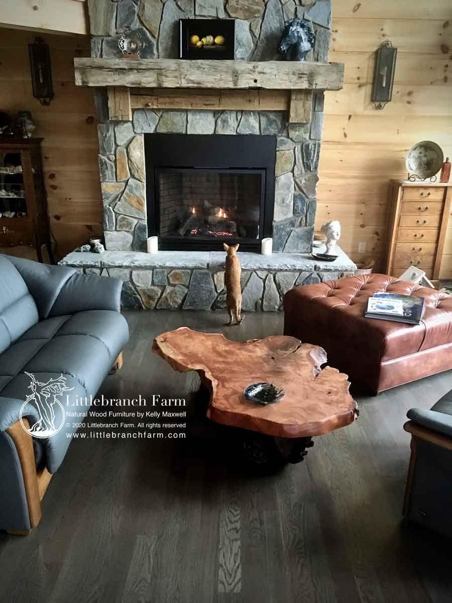 Rustic Living Room Decor Burled Wood Coffee Table Living Room Decor Rustic Coffee Table