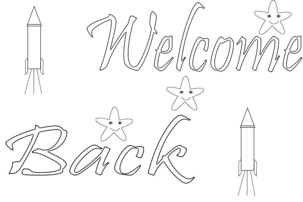 Welcome Back Coloring Pages Coloring Pages Coloring Pages To Print School Coloring Pages