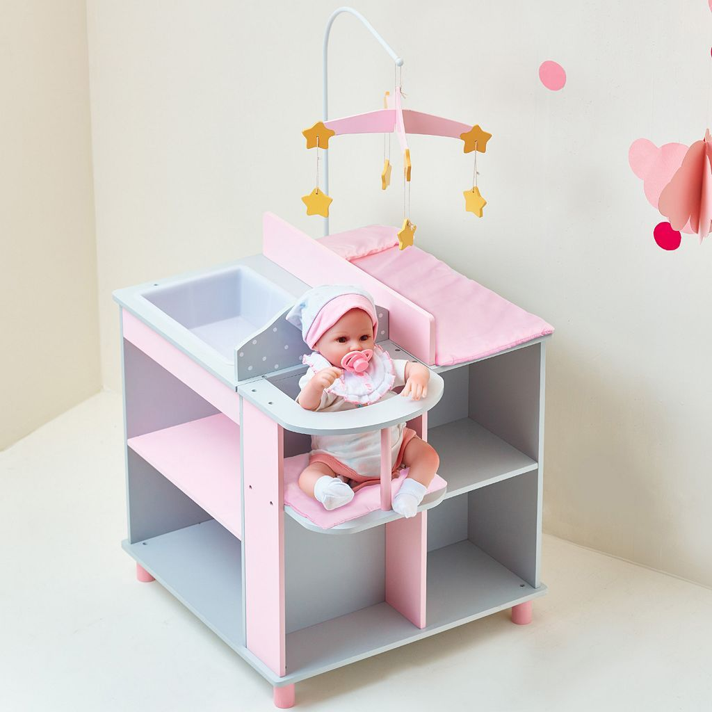 Kids Oliviau0027s Little World Baby Doll Changing Station