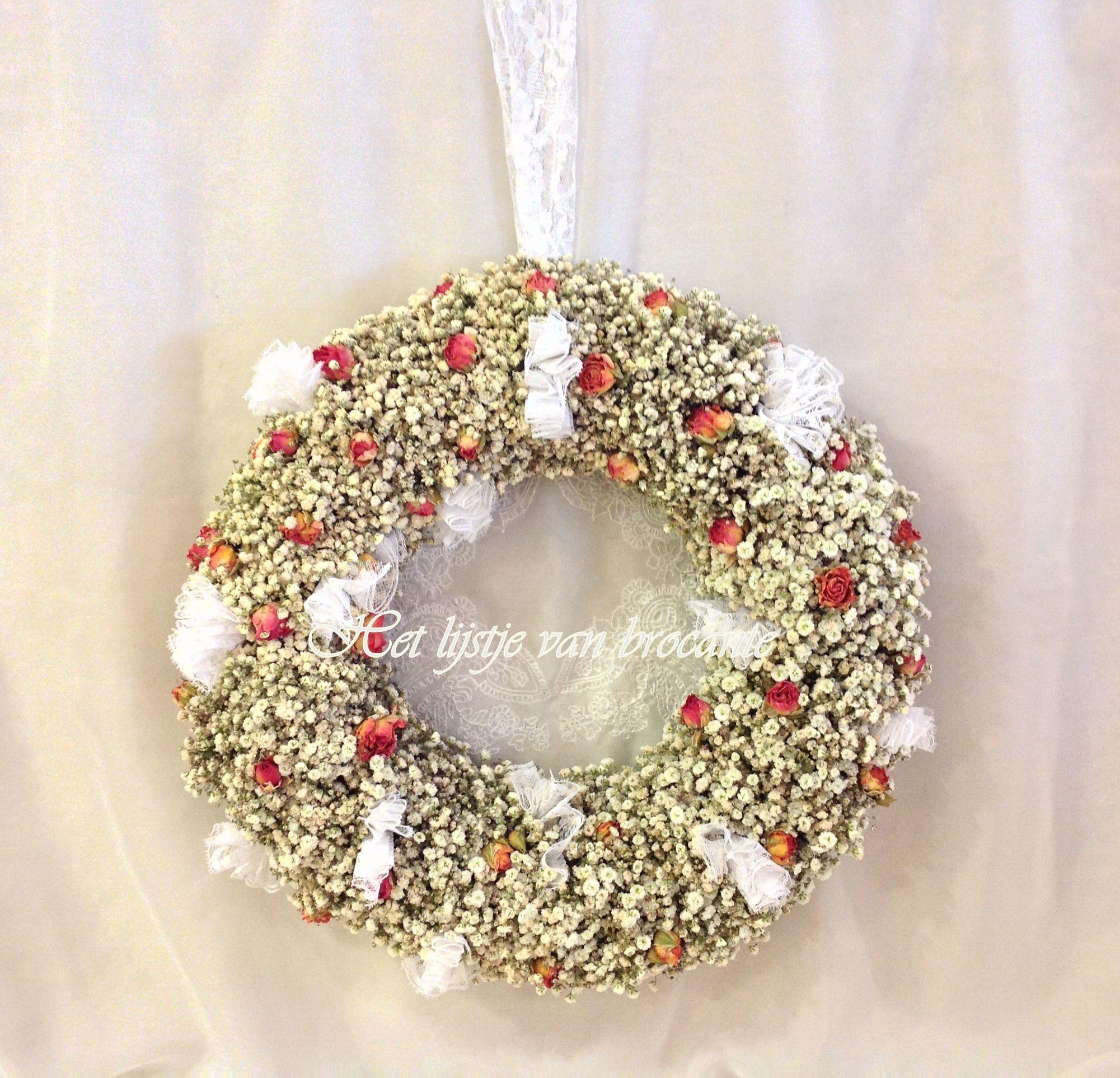 Homemade flea wreath......