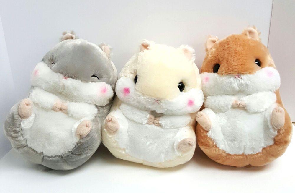 063de6fc5b9 Amuse Hamster Plush Coroham Coron Stuffed Animal 11