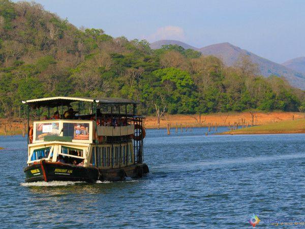 Safari na India - Lago Periyar no Kerala