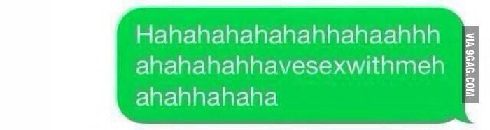When my crush says something funny I'm like....