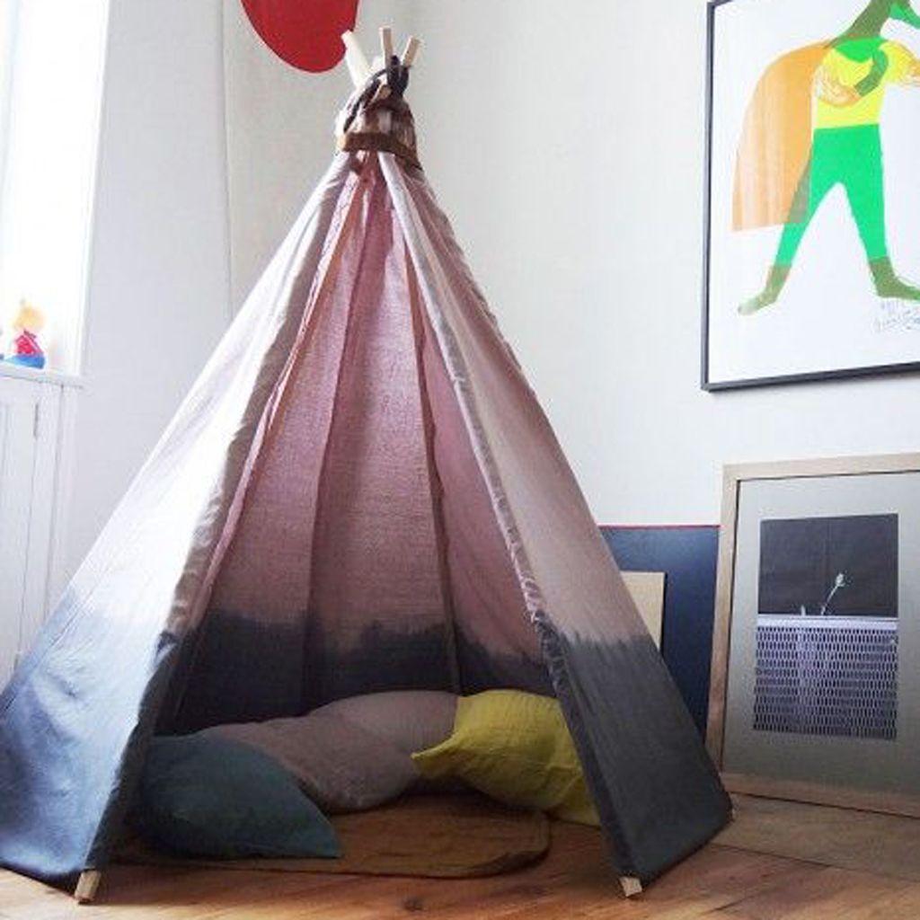 Tente Chambre Garcon destiné décoration tipi pour chambre d'enfant - elle décoration | elle