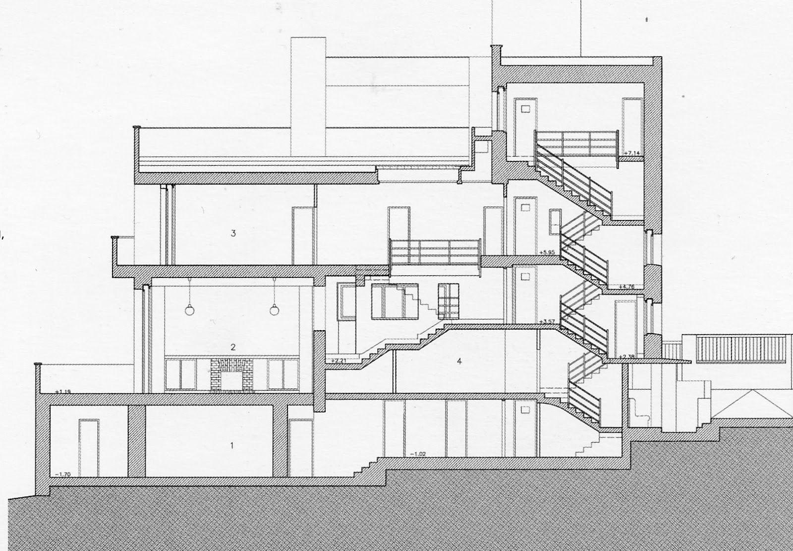 villa m ller adolf loos casos de estudio pinterest villas architecture and modern. Black Bedroom Furniture Sets. Home Design Ideas