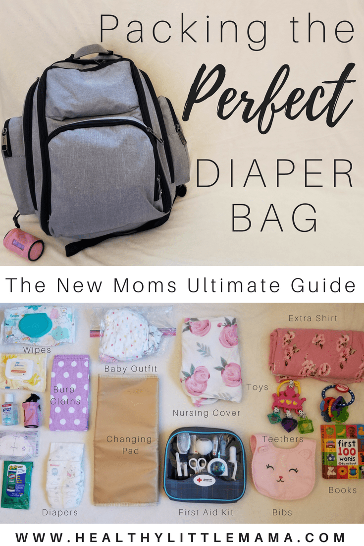 3c18d1a16205 Packing the Perfect Diaper Bag. My diaper bag has equipped me with  everything I need for any situation - Healthy Little Mama