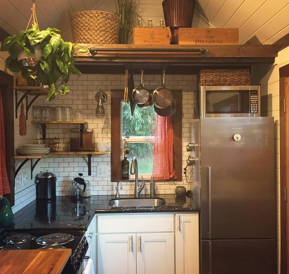 tumbleweed tinyhouses tinyhome tinyhouseplans inside a green luxury tiny house tinyhouselistings - Inside Luxury Kitchens