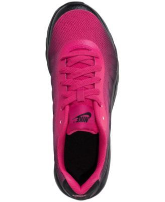 86f645c95e278f Nike Big Girls  Air Max Invigor Print Running Sneakers from Finish Line -  Red 4.5