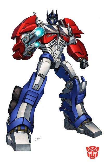 Optimus prime tf prime by dan the on deviantart transformers - Dessin optimus prime ...