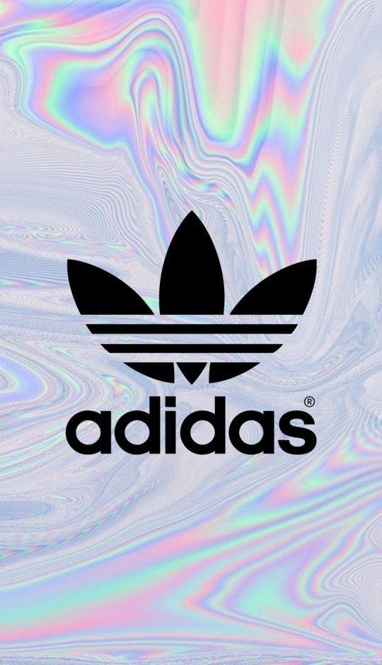 Adidas holográfico/ fondo de pantalla