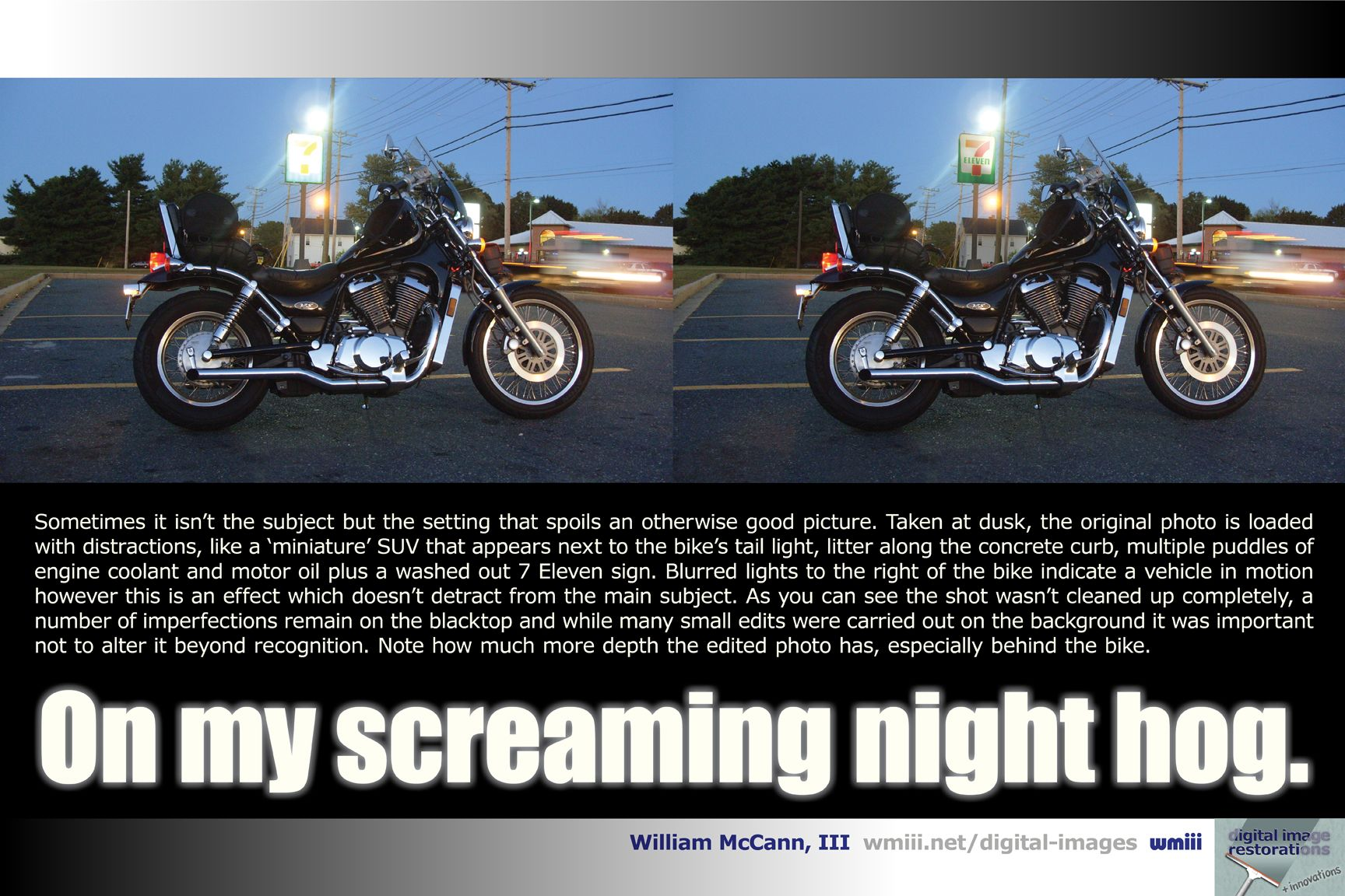 Screaming Night Hog wmiii Digital Imaging New Stuff