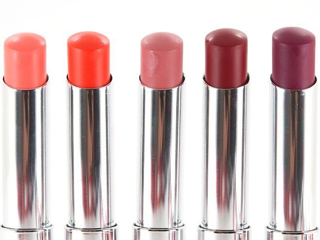 Maybelline Color Whisper Lipsticks in (L-R) Pin Up Peach, Orange ...