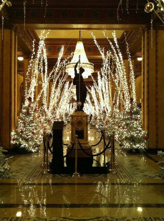 The Roosevelt at Christmas | Astoria hotel, Waldorf ...