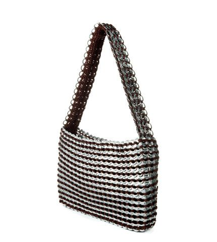 You will get more compliments on this bag than anything else you own. Our first design and still our most popular. Beautifully finished with matching liner, zipper closure. One inside zipped pocket. S