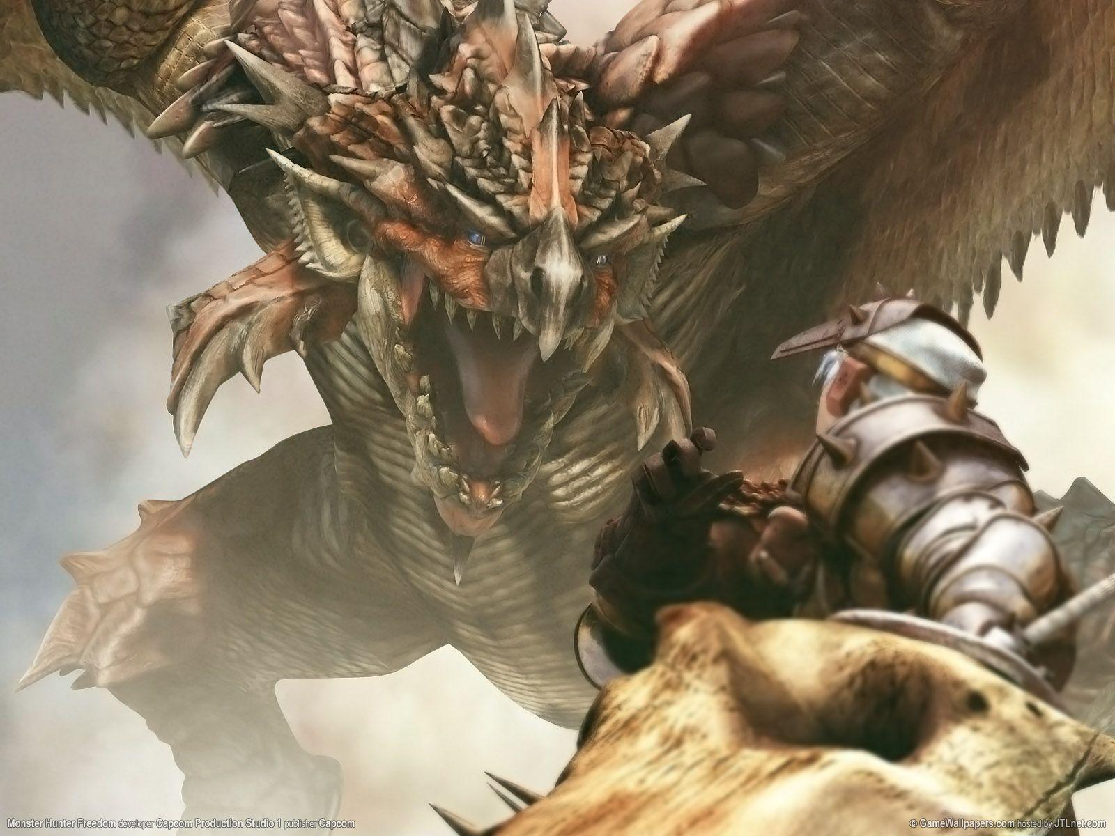 Wallpaper Monster Hunter