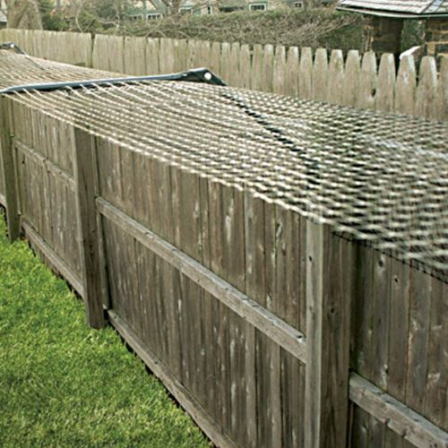 Patio Netting For Cats: Existing Fence Conversion System Kit For Cats (With Images