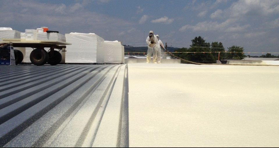Spray Applied Foam Roofing Extreme Industrial Coatings Spray Foam Roofing Roof Restoration Roof Cost