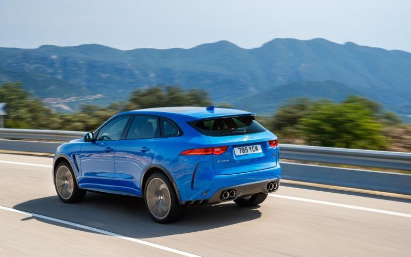 Jaguar F Pace Svr 2020 Jaguar New Jaguar Sport Utility Vehicle