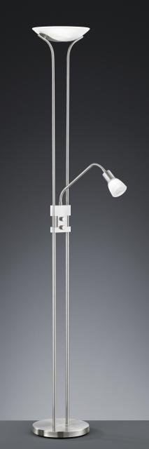 421910207 Trio - stojanové LED svietidlo - matný nikel