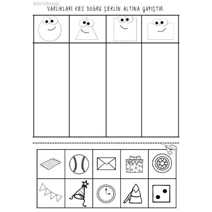 raamfiguren etkinlik t school geometrische formen 2019 geometrische formen vorschule und formen. Black Bedroom Furniture Sets. Home Design Ideas