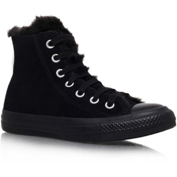 Ct Fun Fur Converse Black | Fur